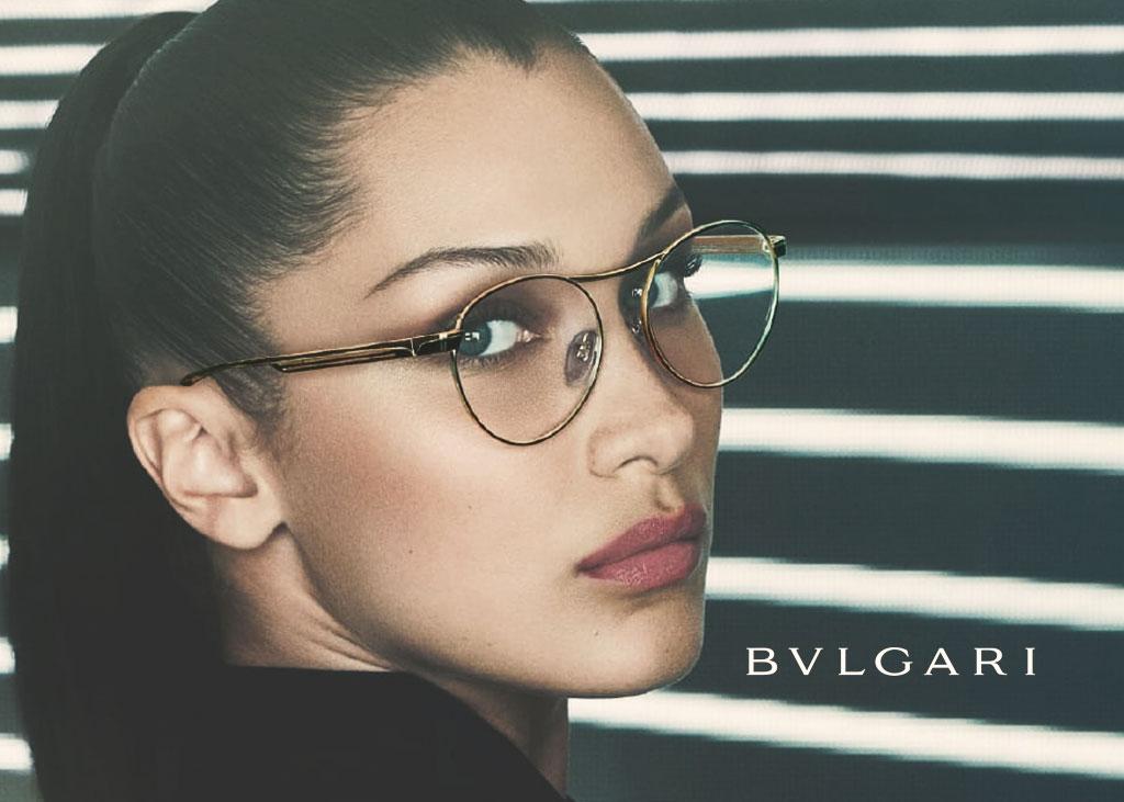 Bocaview Optical Designer Eyewear Frame from Bvlgari