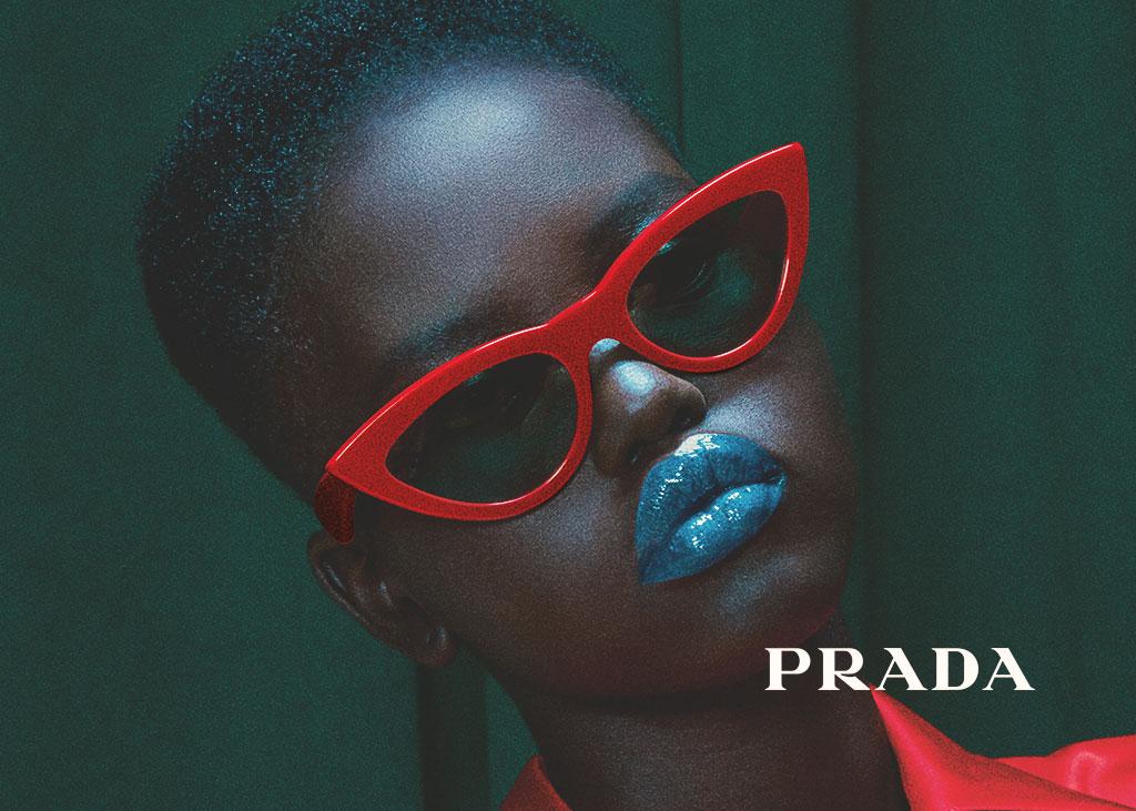 Top Designer Eyewear Frame from Prada
